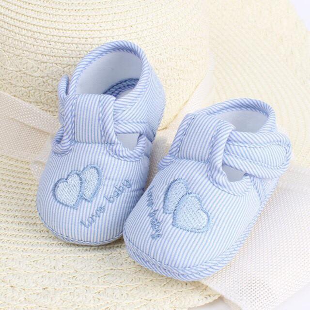giày tập đi cho bé trai/ bé gái có quai dán tiện lợi