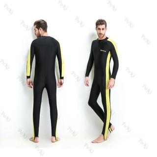 Bộ áo lặn, quần áo lặn biển chống nắng 1mm NAM - YELLOW, cản tia UV, hàng thể thao chuyên dụng cao cấp - POKI thumbnail