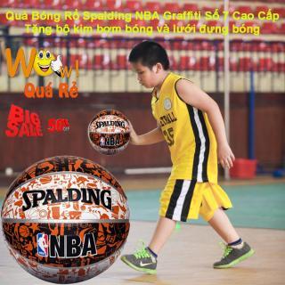 Banh Ro CHỌN NGAY Quả Bóng Rổ Spalding NBA SPD-045 Cao Cấp Size 7 ( Tặng Bộ Kim Bơm Bóng Và Lưới Đựng Bóng ) Giảm Giá Sốc 50% Ngay Hôm Nay - Bh Uy Tín 1 Đổi 1 thumbnail