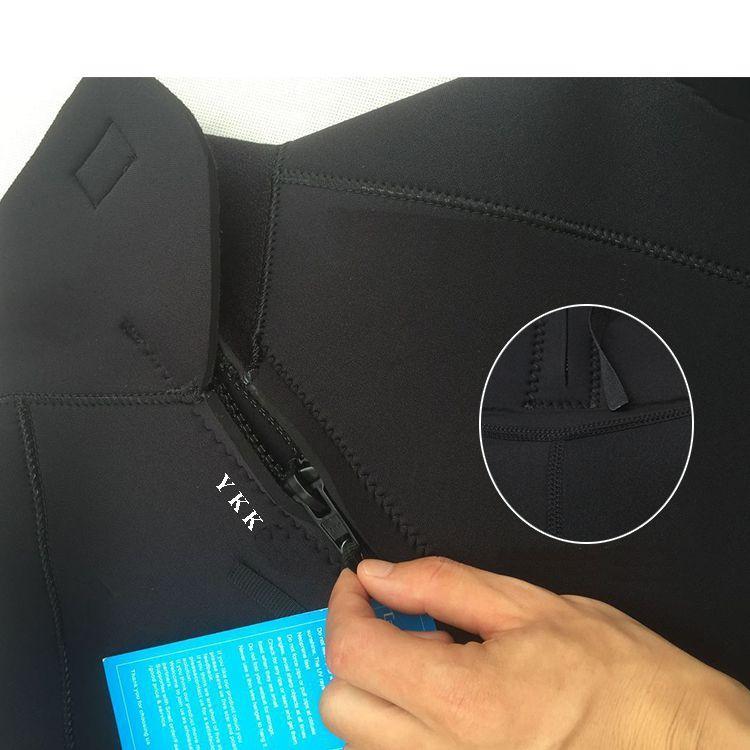 Bộ đồ lặn, quần áo lặn biển 3mm (BLACK) giữ ấm, thoáng khí, chống thầm nước cao cấp POPO Sports - 1