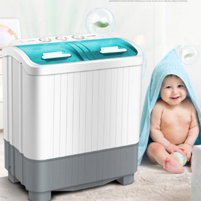 máy giặt mini A.U.X 2 lồng giặt XPB56-98H
