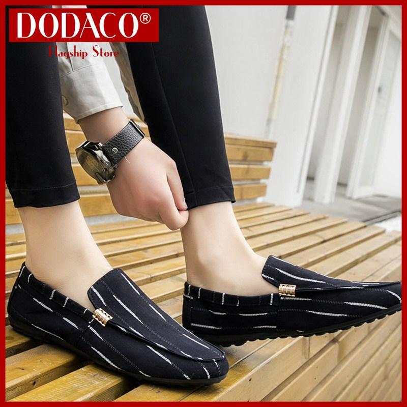 Giày lười nam giày mọi nam DODACO DDC3191 A07