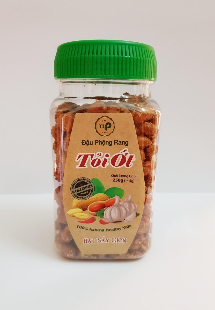 Đậu phộng rang tỏi ớt loại Đặc Biệt 250g