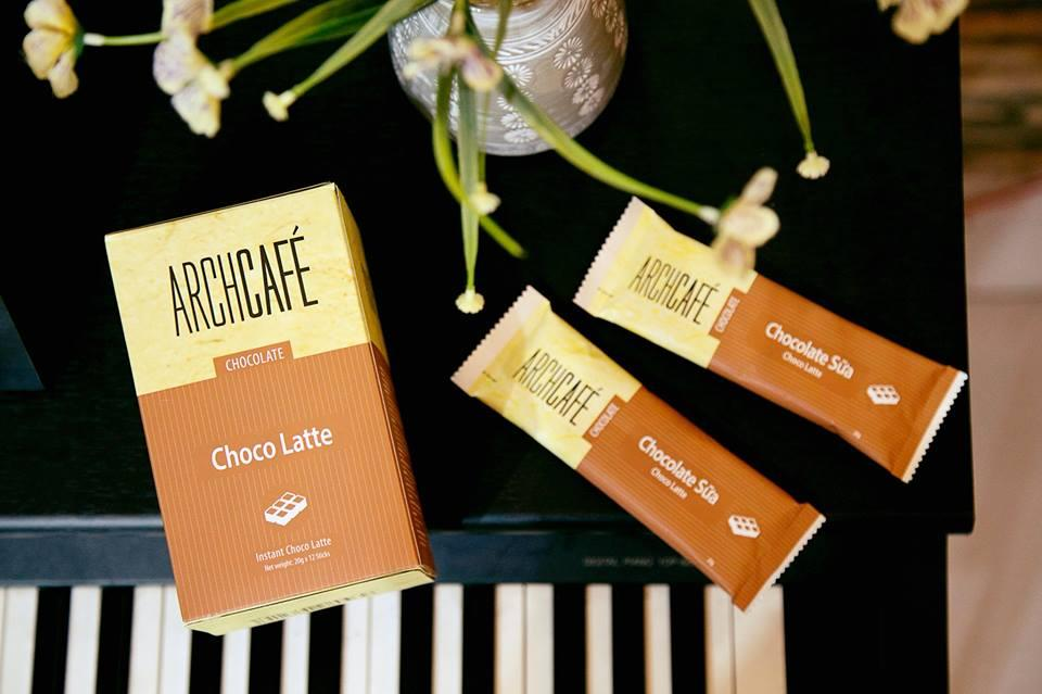 date t9/2019 Archcafe Choco latte