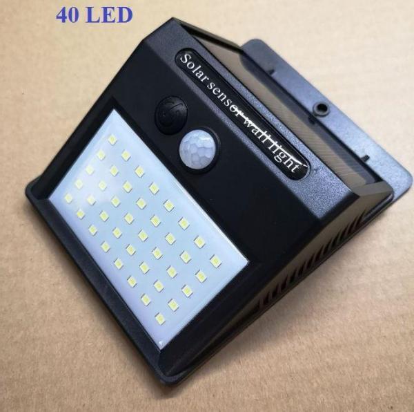 Bảng giá Đèn cảm biến hồng ngoại dùng năng lượng mặt trời Solar 20LED siêu sáng (Đen), Đèn năng lượng mặt trời CẢM BIẾN Chuyển Động,đèn led, đui đèn cảm biến hồng ngoại, đèn pin siêu sáng, [Phụ Kiện Shop 9x]