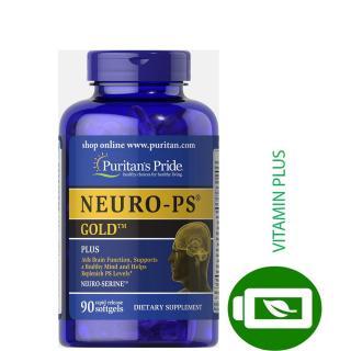 Viên uống tăng cường tuần hoàn não, cải thiện trí nhớ Puritan s Pride Neuro-PS Gold 90 viên thumbnail