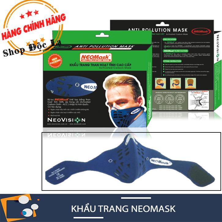 Khẩu Trang NeoMask Chính Hãng NeoVision Gồm Lớp Vải Lọc ACC Than Hoạt Tính (Kho HCM)