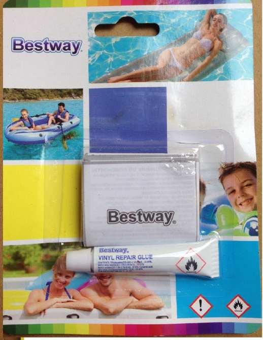 Hình ảnh Keo dán và miếng vá bể bơi, ghế phao, phao bơi