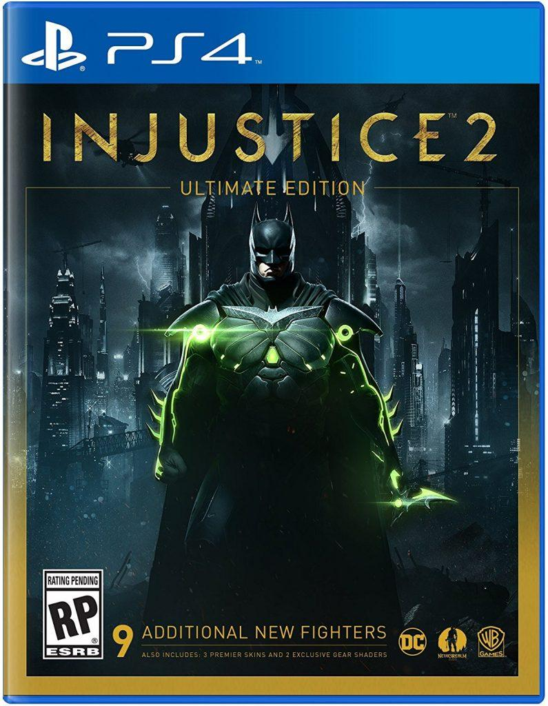 Đĩa Game Ps4 Injustice 2 Hệ Us