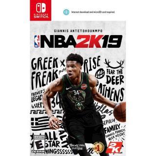 Đĩa game Nintendo Switch NBA 2K19 thumbnail