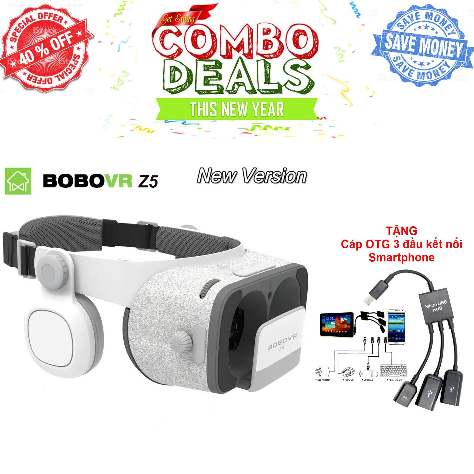 Có Tem Xác Thực - Kính thực tế ảo 3D Bo.bo VR Z5 - Phiên bản nâng cấp toàn diện, bản nâng cấp Kính thực tế ảo thông minh thế hệ 2 BOBOVR Z5, Kính thực tế ảo VR BOX 3D phiên bản mớiKính thực tế ảo 3D BOBOVR Z5 - Công ty nhập khẩu và phân phối