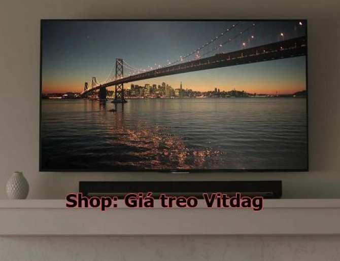 Hình ảnh Giá treo tivi 40-60inch, khung kệ treo tường tivi.
