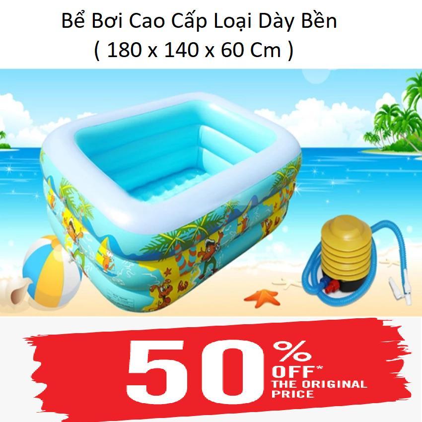 Bộ Bơi Con Ong Cho Bé,cach Noi Tren Nuoc, Bể Bơi 3 Tầng Hình Chữ Nhật Cho Bé