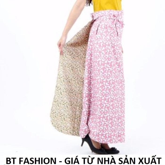 Váy Chống Nắng (Loại Tốt) 2 Lớp + 2 Mặt, Có Túi Tiện Lợi - BT Fashion - Giao màu ngẫu nhiên (VCN08)