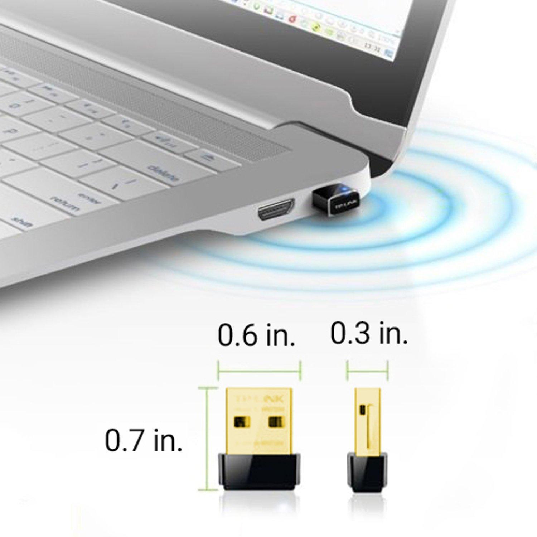 USB thu Wifi TP-Link TL-WN725N, dùng để kết nối wifi cho laptop, máy tính để bàn, bảo hành 2 năm