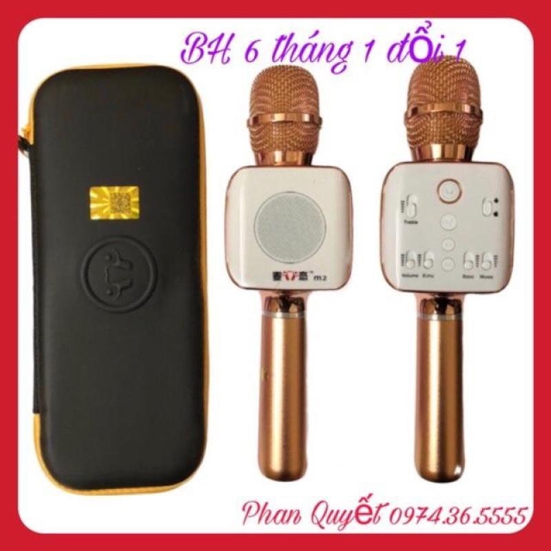 Míc Hát Bluetooth Kèm Loa M2