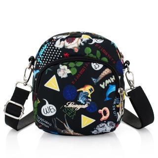 Túi đeo thường ngày dành cho phụ nữ tuổi trung niên, túi vải chống nước phong cách Oxford,túi vải canvas đeo vai cỡ nhỏ - INTL thumbnail