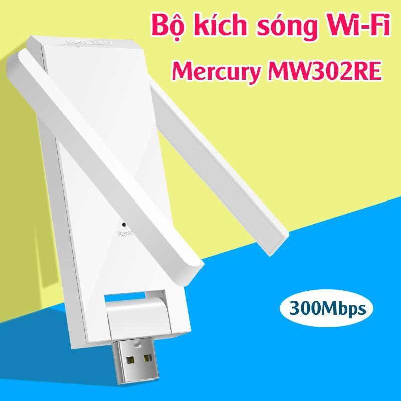 Kích sóng Wifi Mercury 2 Râu MW302RE