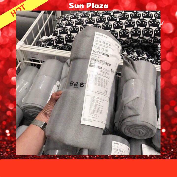 Chăn Nỉ IKEA Siêu Nhẹ Giữ Nhiệt(Shop còn cung thảm du lịch picnic , chun tóc hàn quốc...)