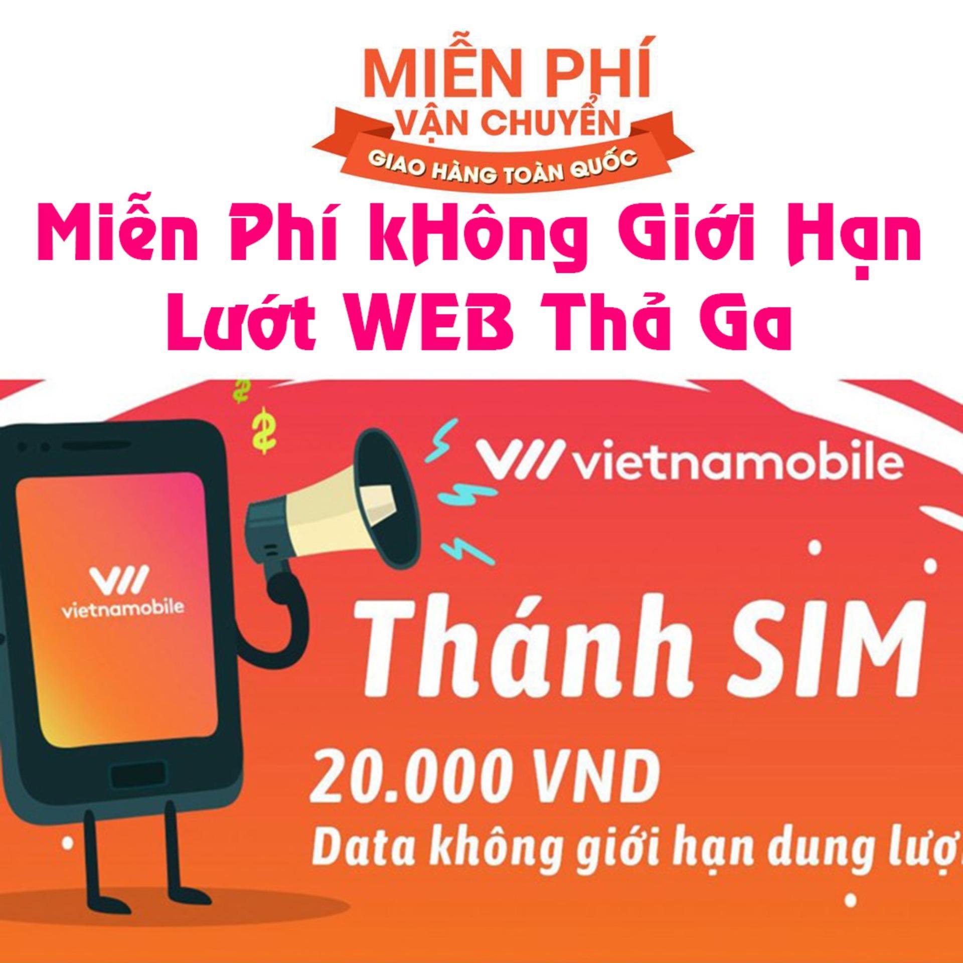 Thánh sim 3G Vietnamobile Huyền Thoại Sim 3G - MIỄN...