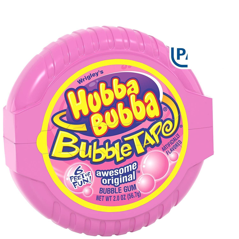 Kẹo cao su gum Hubba Bubba Bubble Gum Original Bubble Gum 56,7g (Mỹ)