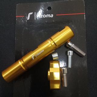 [SIÊU CHẤT] Thanh CNC chế độ chân gương xe máy- chuyên hỗ trợ đèn trợ sáng, lắp thêm điện thoại chạy GRAB P104-VÀNG-089 thumbnail