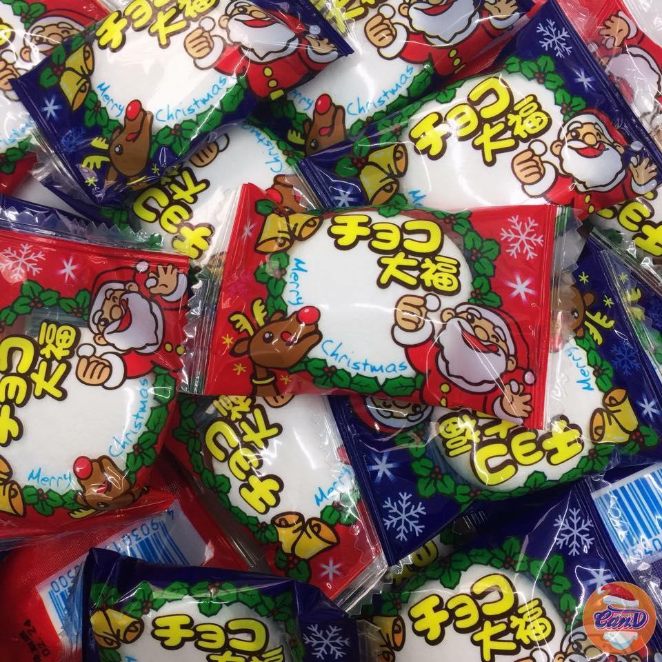 Marshmallow Chocolate Giáng sinh (3 viên)