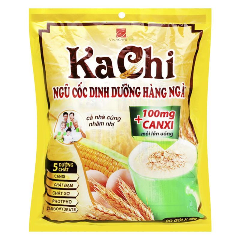 Ngũ cốc Kachi Canxi bịch 20 gói x 25g