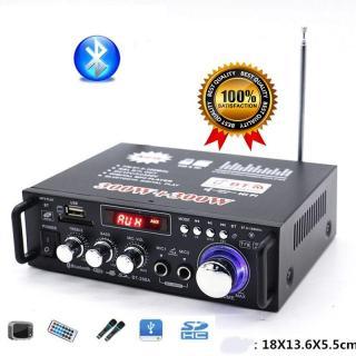 Giá âm ly, Ampli đèn, Amply Bluetooth mini công suất lớn, bảo hành 1 đổi 1, M140 thumbnail
