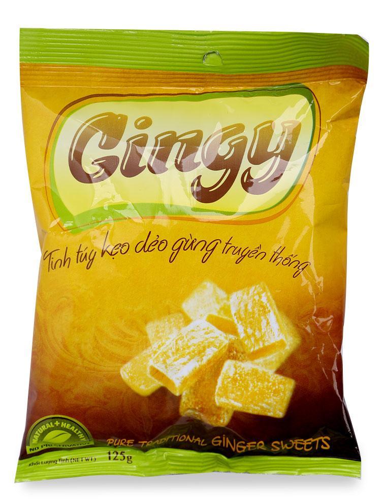 Kẹo Dẻo Ginger Gừng Gói 125G