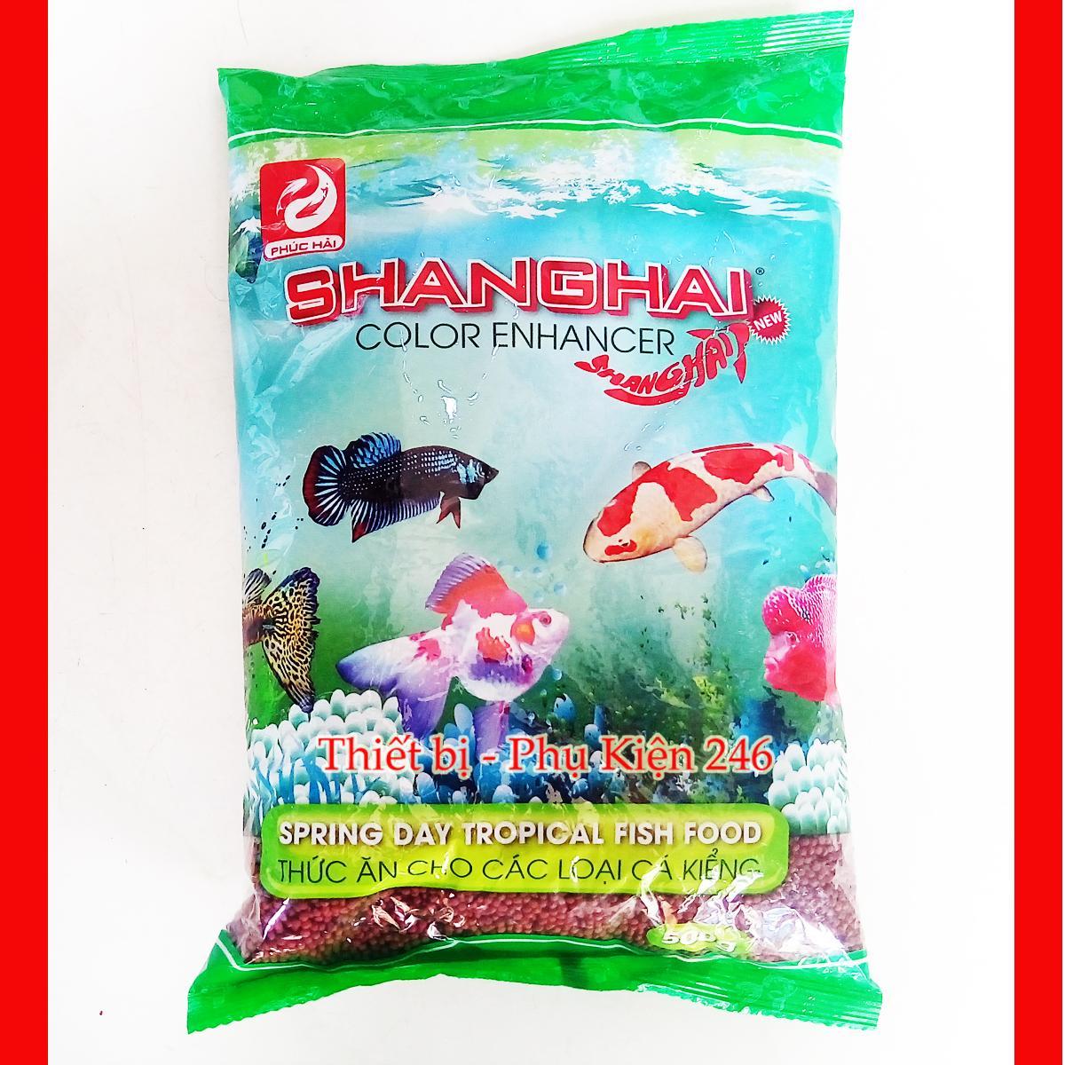 Thức ăn cá cảnh giúp Cá khỏe đẹp Shanghai 500gram