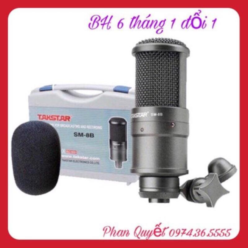 Micro Thu Âm Livestream TAKSTAR SM8B -Không có nguồn 48v