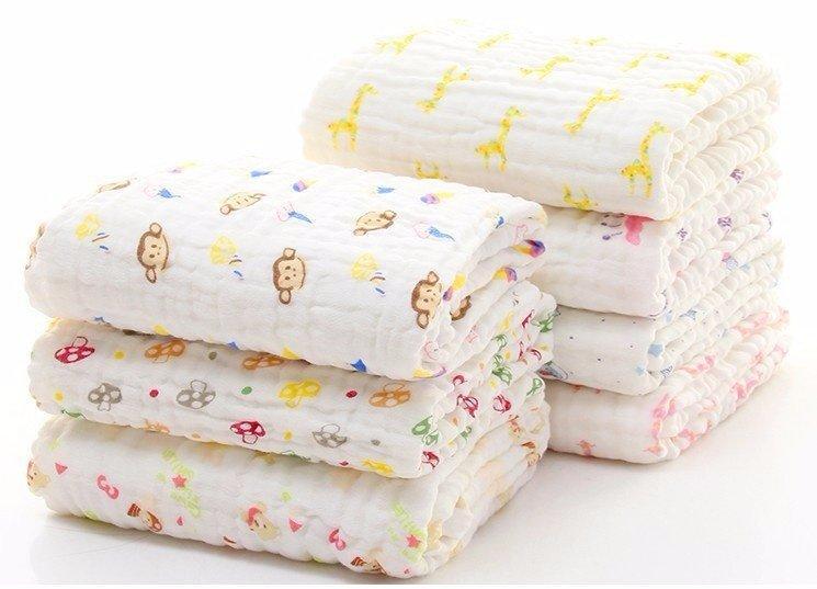 Khăn tắm xô 6 lớp cho bé