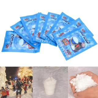 VINMALL Combo 10 gói Tuyết Nhân Tạo - Instant Snow (Túi 30gr) thumbnail