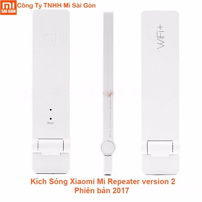 Thiết bị kích sóng wifi Xiaomi repeater Version 2 Trắng