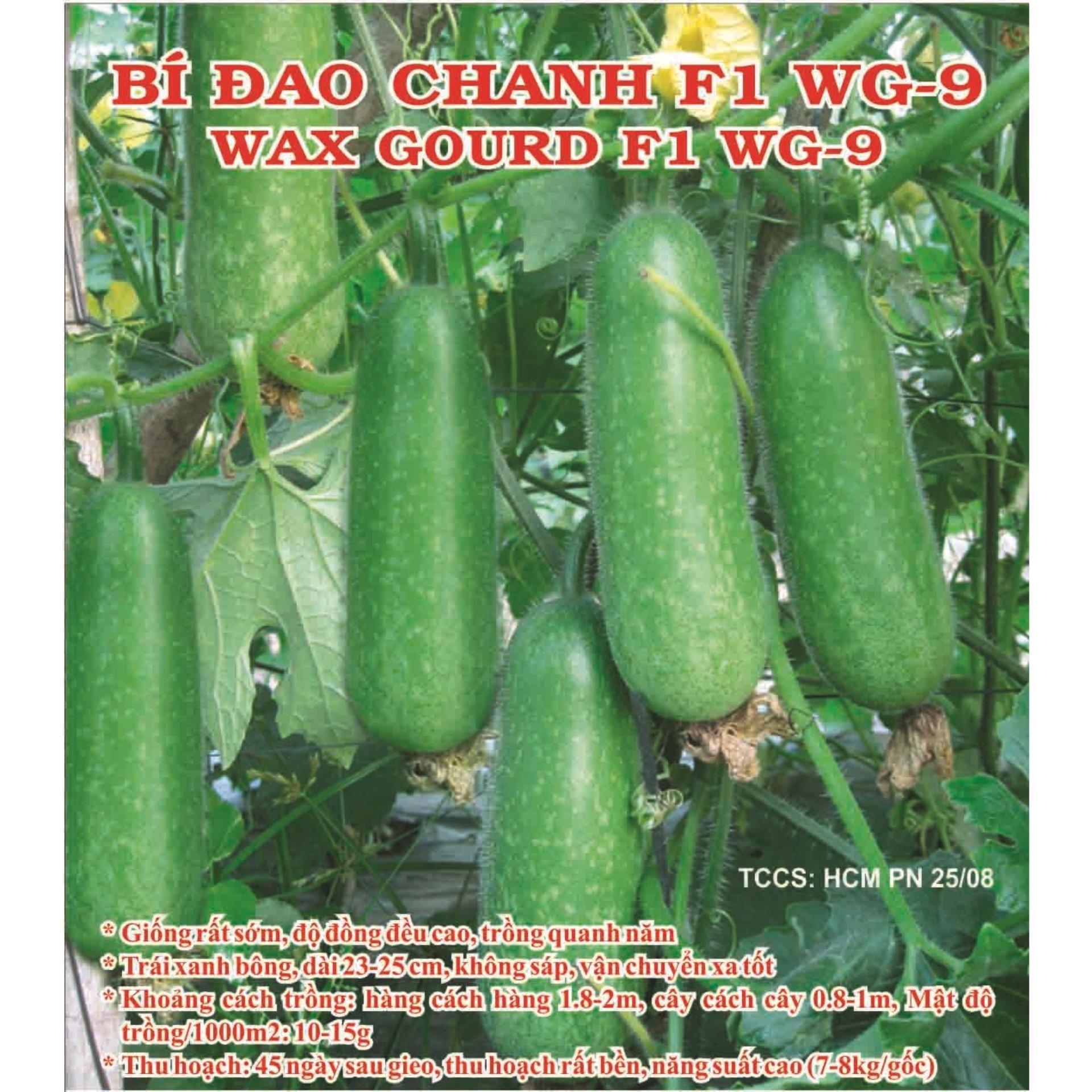 Hạt Giống Phú Nông Bí Đao Chanh F1 Wg9
