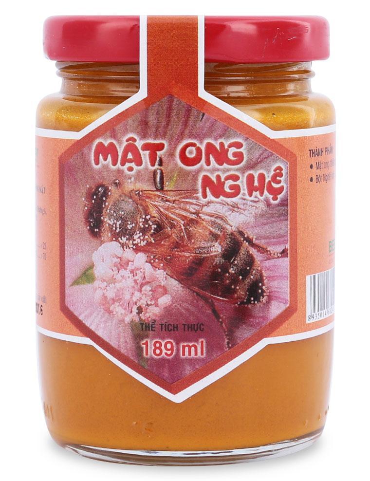 Mật Ong Nghệ Bee Honey Hộp 189ML