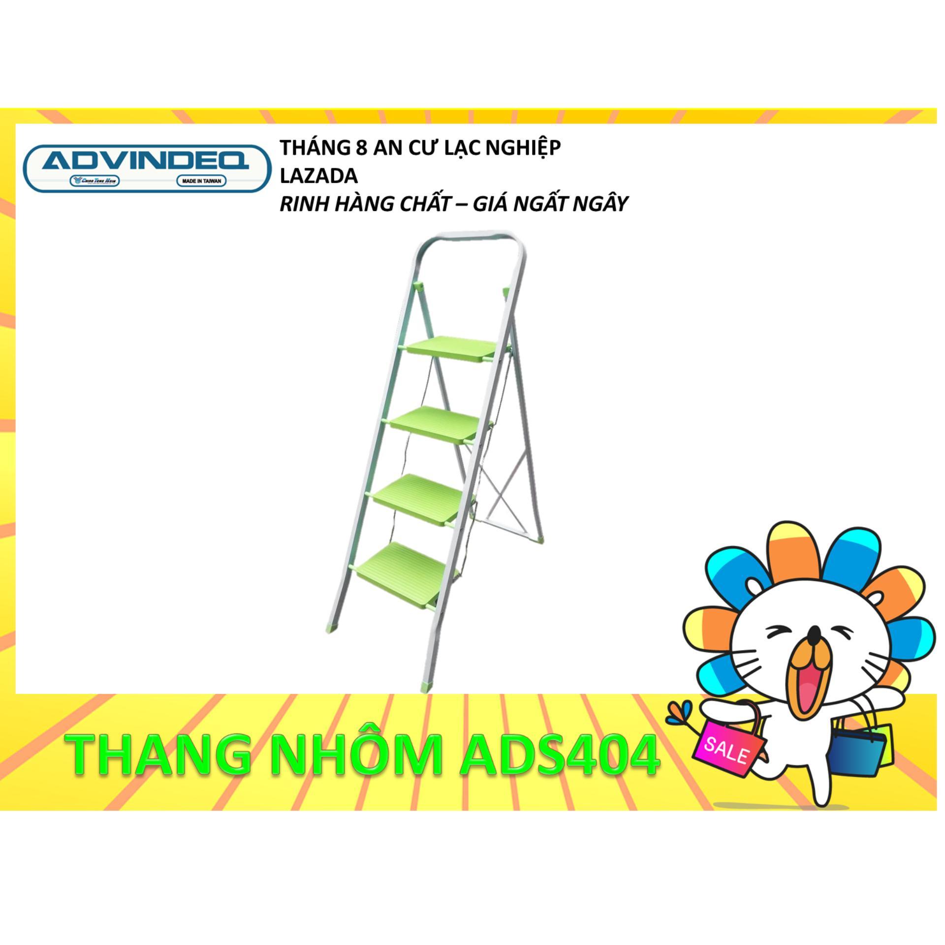 Thang ghế 4 bậc Advindeq ADS404 (Bậc cao nhất: 93cm)