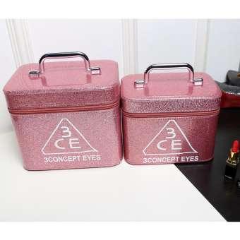 กระเป๋าเครื่องสำอาง พร้อมกระจก สไตล์เกาหลี ยี่ห้อ3ce
