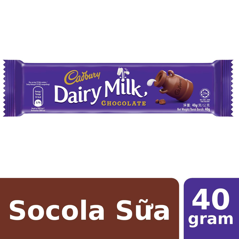 Sô Cô La Sữa Cadbury Dairy Milk 40g