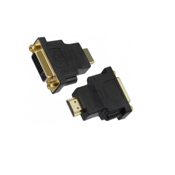 Đầu Chuyển Đổi DVI Đầu Cái (24+5pin) Sang Đầu Đực HDMI