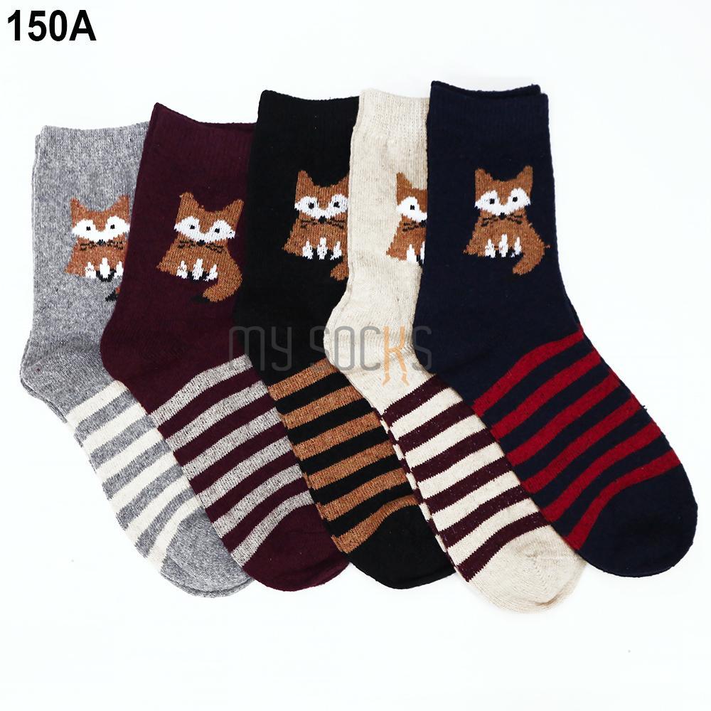 Phụ kiện giày vớ nữ len cao cổ (5 đôi) Vớ Store - A150