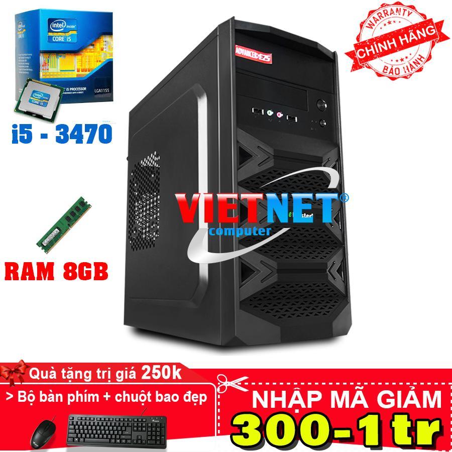 Máy tính intel core i5 3470 RAM 8GB HDD 500GB