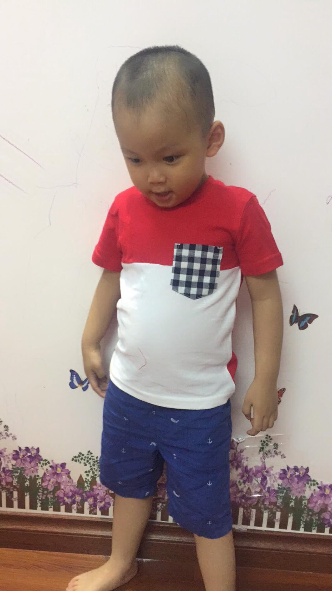 (XẢ HÀNG) Áo phông hàng xuất dư cho bé trai