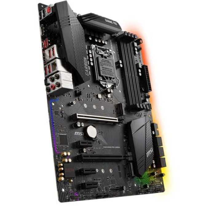 Hình ảnh Mainboard MSI B360 GAMING PRO CARBON ( Socket 1151 V2 )