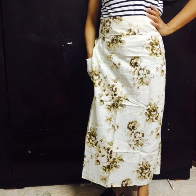 Xả hàng váy chống nắng vải thô