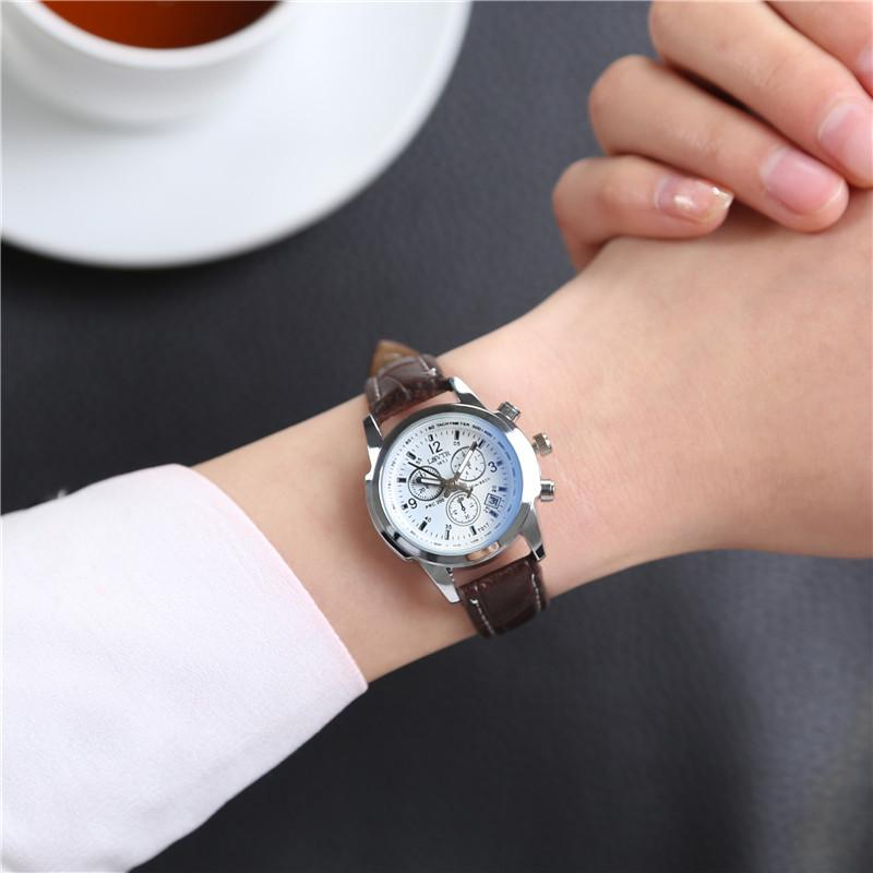 Luxury Blue Ray Glass กันน้ำ stainless QUARTZ ชาย Watch