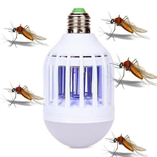 Bóng Đèn LED bắt muỗi hiệu quả cao (Mẫu 2017)