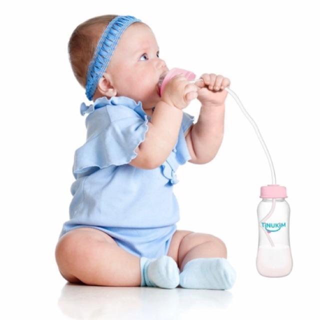 Bình Sữa Rảnh Tay Tinukim - Hàng nhập Mỹ