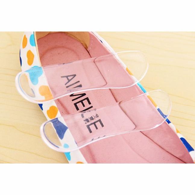 Combo 3 bộ 2 miếng lót gót giày silicon êm chân